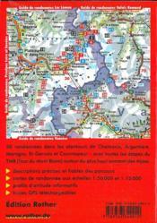 Mont Blanc (Fr)Avec Toutes Les Etapes - 4ème de couverture - Format classique