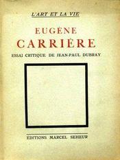 Eugène Carrière. - Intérieur - Format classique