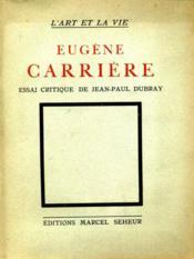 Eugène Carrière. - Couverture - Format classique