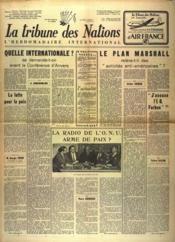 Tribune Des Nations (La) N°107 du 01/06/1946 - Couverture - Format classique