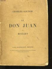 Le Don Juan De Mozart - Couverture - Format classique