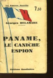 Paname Le Caniche Espion - Couverture - Format classique