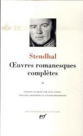 Oeuvres romanesques complètes t.2  - Stendhal