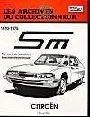 Citroen Sm Tous Modeles (70/75) N 19 - Couverture - Format classique