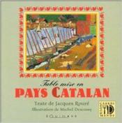 Table mise en pays catalan - Couverture - Format classique