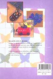 Pate Polymere Jeux Animaux Et Personnages - 4ème de couverture - Format classique