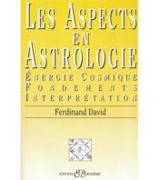 Les aspects en astrologie - Couverture - Format classique