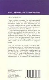 Bethsabee - 4ème de couverture - Format classique