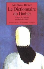 Le dictionnaire du diable - Couverture - Format classique