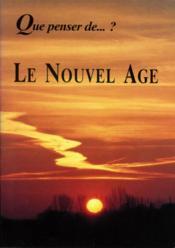 Le Nouvel Age - Couverture - Format classique
