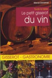 Le petit Gisserot du vin - Couverture - Format classique