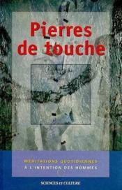 Pierres De Touche - Couverture - Format classique