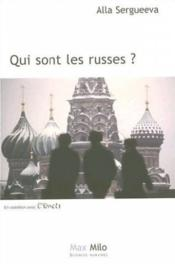 Qui sont les Russes ? - Couverture - Format classique