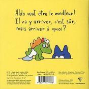 Aldo N'Est Pas Le Meilleur - 4ème de couverture - Format classique