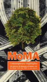 Vente  MoMA ; contemporary highlights  - Collectif