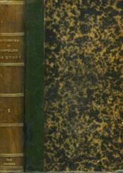 SOUVENIRS DU CHEVALIER DE CUSSY. TOME 1. Garde Du Corps, Diplomate et Consul Général 1795-1866. - Couverture - Format classique