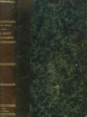 Le Droit Au Bonheur - Couverture - Format classique