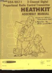 Gda - 1057-1 - 3 Channel Digital Proportional Radio Control Transmitter - Heathkit - Assembly Manual - Couverture - Format classique