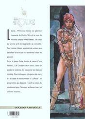 La Roue T.1; La Prophetie De Korrot - 4ème de couverture - Format classique