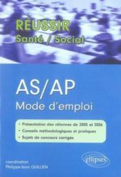 As/ap mode d'emploi - Couverture - Format classique