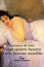 24 heures d'une femme sensible - Intérieur - Format classique