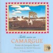 Table Mise En Camargue - Couverture - Format classique