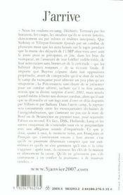 J'Arrive - Il Est Plus Tard Que Vous Ne Le Pensez - 4ème de couverture - Format classique