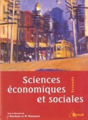 Sciences economiques et sociales 2e - Couverture - Format classique