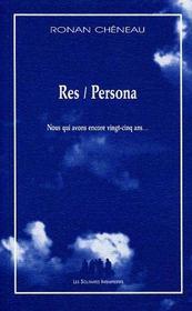 Res/persona - Intérieur - Format classique