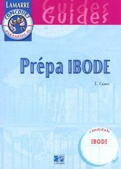 Prepa Ibode - Intérieur - Format classique