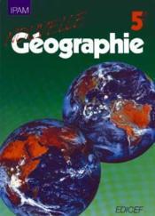 Nouvelle Geographie 5e - Couverture - Format classique