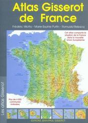 Atlas gisserot de france - Intérieur - Format classique