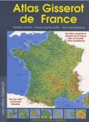 Atlas gisserot de france - Couverture - Format classique