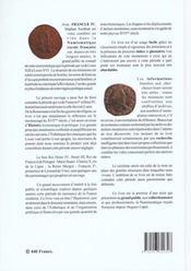 Franciae Iv, Catalogue Des Monnaies Royales Francaises - 4ème de couverture - Format classique