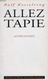 Allez Tapie - Couverture - Format classique