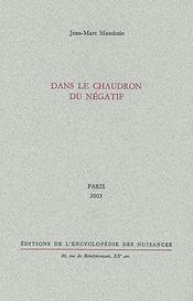 Dans le chaudron du négatif (édition 2003) - Couverture - Format classique