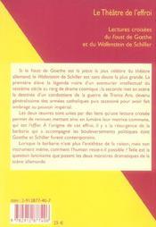Le Theatre De L'Effroi - 4ème de couverture - Format classique