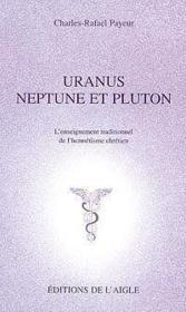 Uranus. Neptune Et Pluton - Couverture - Format classique