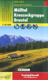 Mölltal, Kreuzeckgruppe, Drautal ; WK 225 - Couverture - Format classique