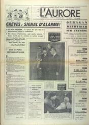 Aurore (L') N°8772 du 14/11/1972 - Couverture - Format classique