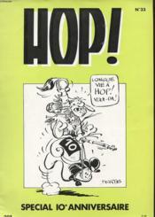 Hop N° 33 - Revue D'Information De La Bd - Special 10 Anniversaire - Couverture - Format classique