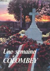 Une Semaine A Colombey - Couverture - Format classique