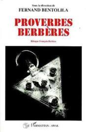 Proverbes Berberes Bilingue Francais-Berbere - Couverture - Format classique