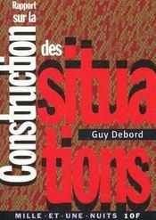 Rapport Sur La Construction Des Situations - Intérieur - Format classique