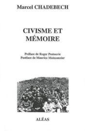 Civisme et memoire - Couverture - Format classique