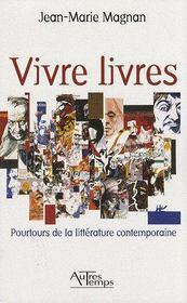 Vivre livres - Couverture - Format classique