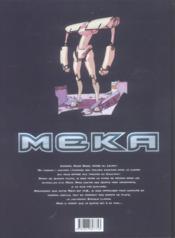 Meka t.2 ; outside - 4ème de couverture - Format classique