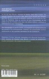 Jean moulin - 4ème de couverture - Format classique
