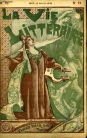 Les Eaux Muettes. La Vie Litteraire. - Couverture - Format classique
