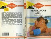 Rendez-Vous A Rio - Rendez-Vous In Rio - Couverture - Format classique